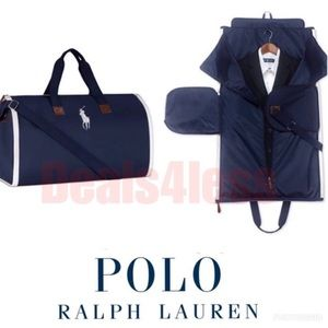 Polo Ralph Lauren Duffel Bag Garment Bag 2-in-1